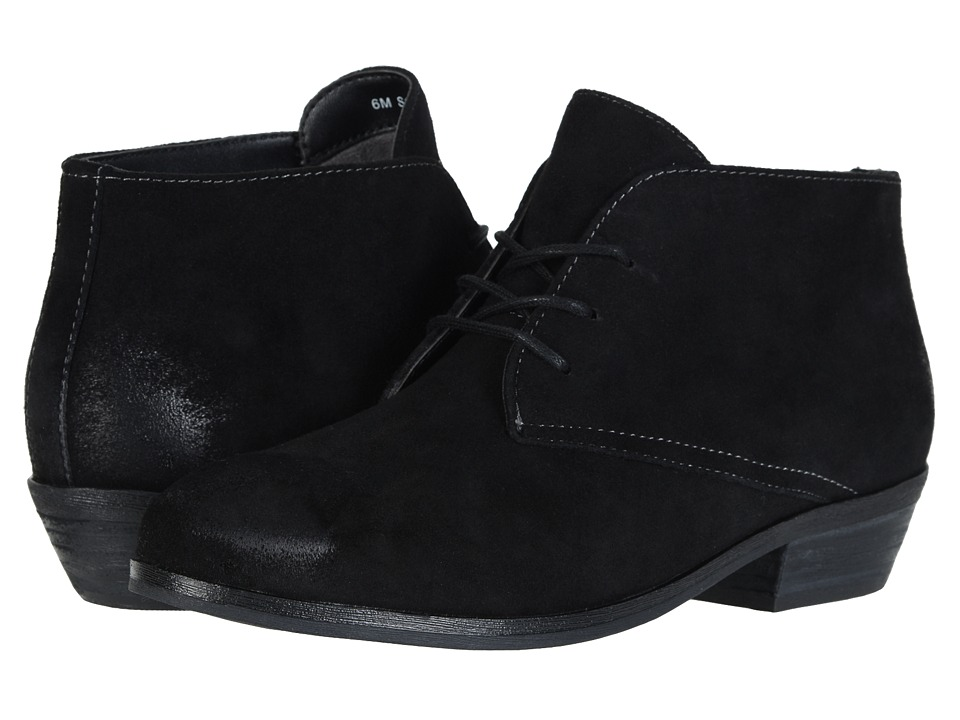SoftWalk - Ramsey (Black Cow Suede Leather) Women