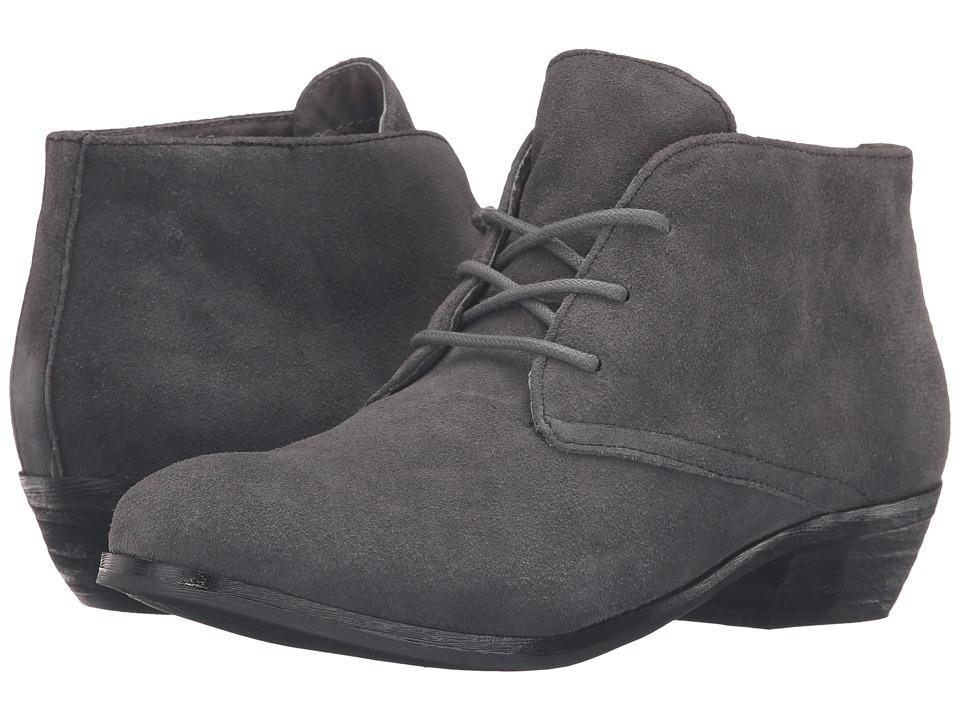 SoftWalk - Ramsey (Dark Grey Cow Suede Leather) Women
