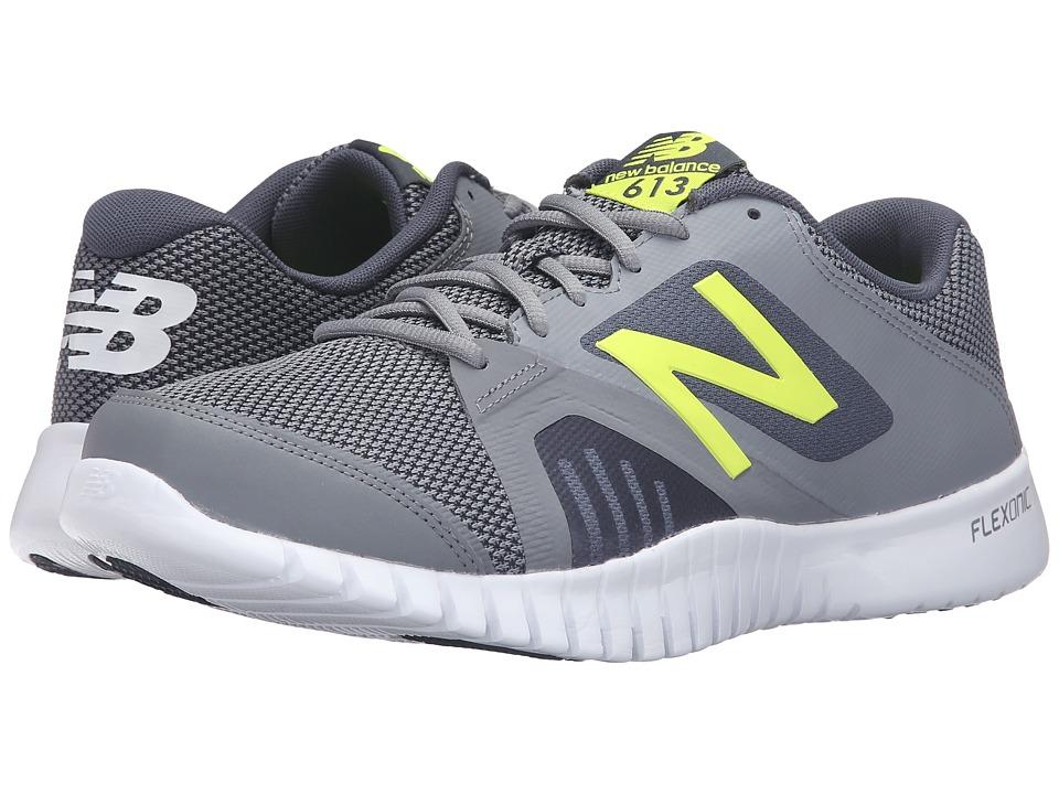 New Balance - MX613v1 (Gray/Yellow) Mens Shoes