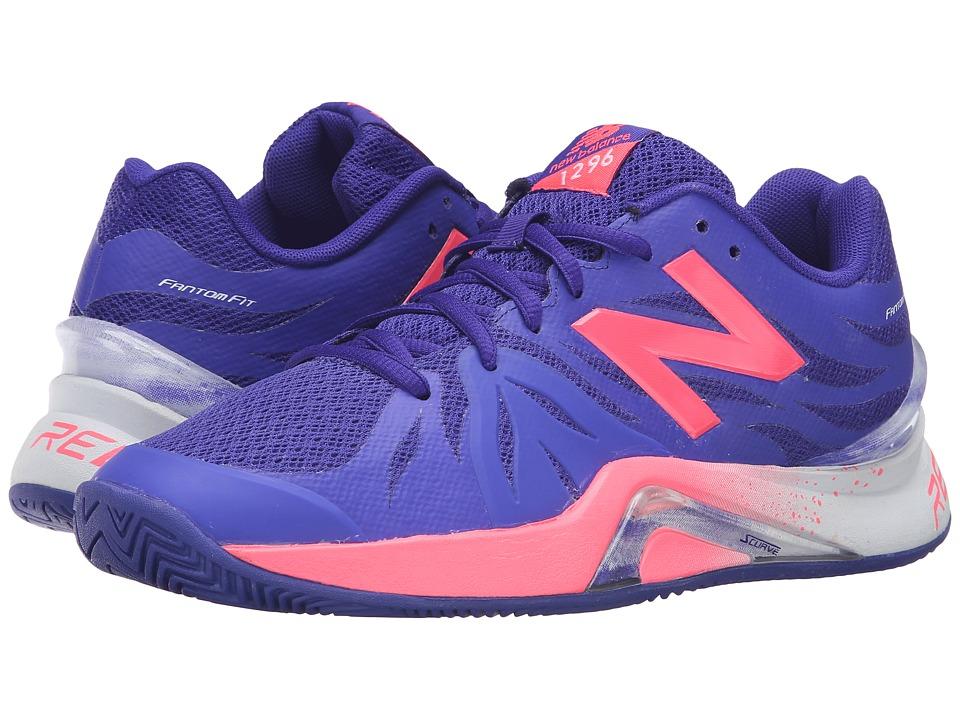 New Balance WC1296v2 (Blue/Guava) Women's Tennis Shoes