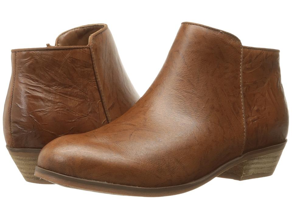 SoftWalk - Rocklin (Cognac Vintage Waxy Wrinkled Leather) Women