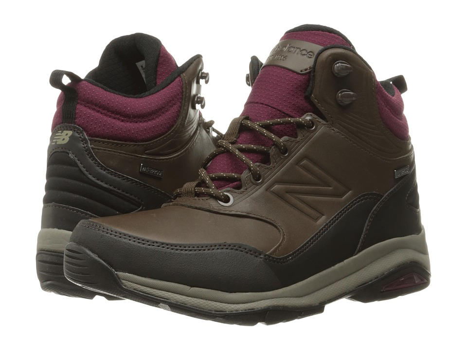 New Balance WW1400v1 (Dark Brown) Women's Hiking Boots