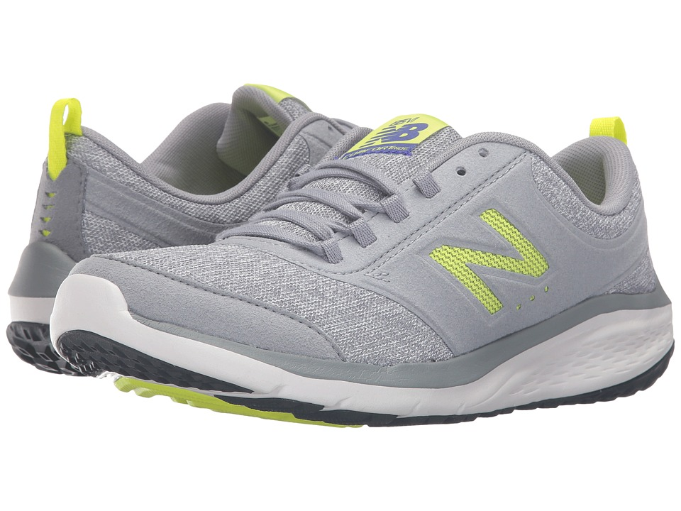 New Balance - WA85v1 (Grey/Yellow) Womens Shoes