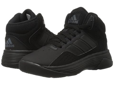 adidas Kids Cloudfoam Ilation (Little Kid/Big Kid) - Black/Onix Leather