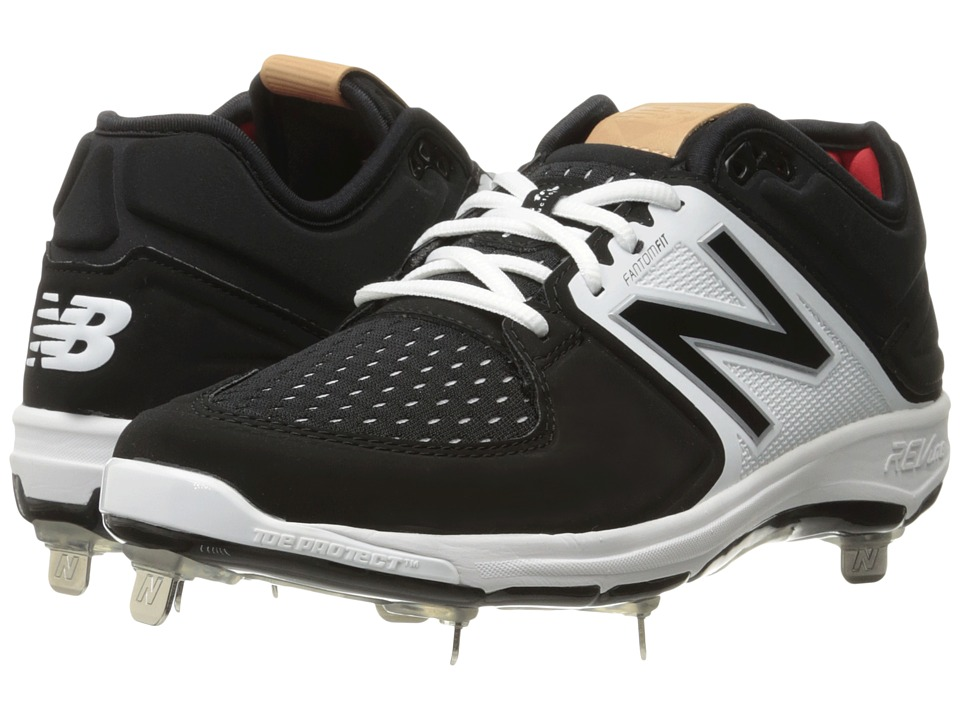New Balance - L3000v3 (Black/White) Mens Cleated Shoes