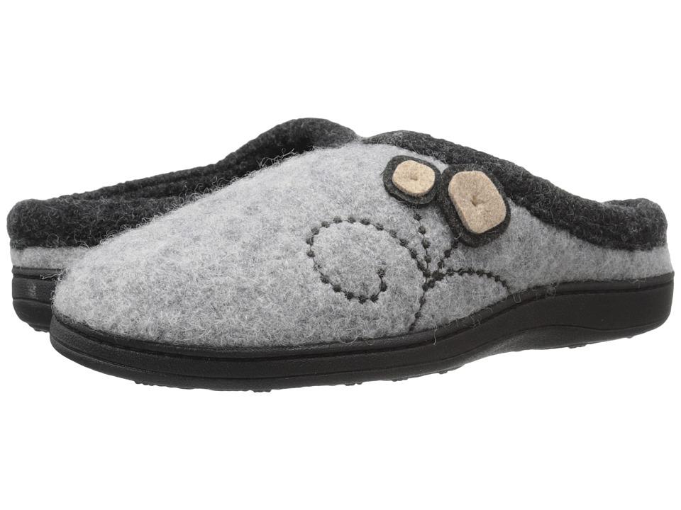 Acorn Dara (Light Grey Button) Women's Shoes