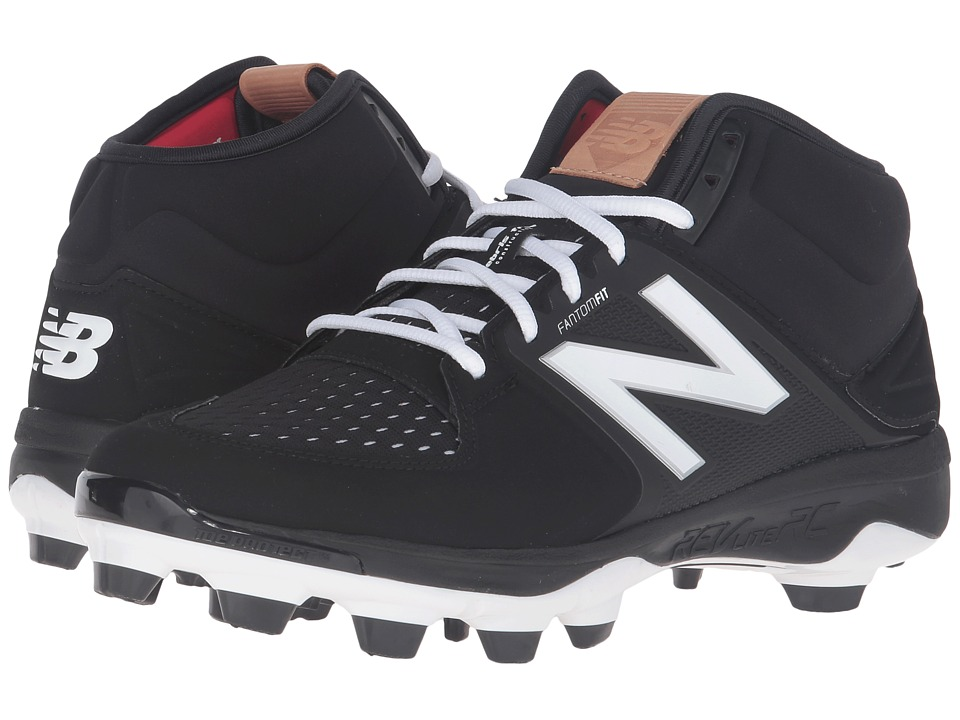 New Balance - PM3000v3 (Black/Black) Mens Cleated Shoes
