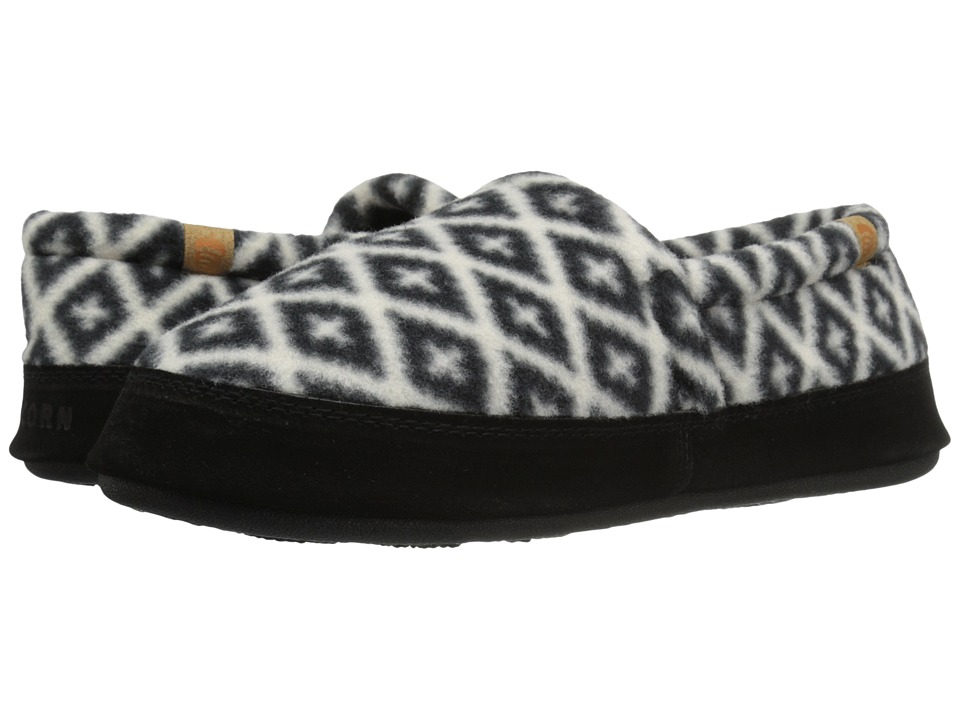 Acorn Acorn Moc (Black/Cream Southwest) Women