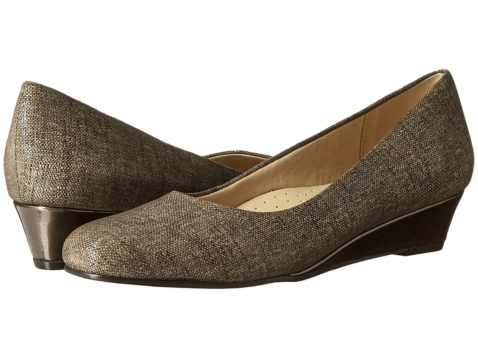 Trotters - Lauren (Taupe Textured Leather) Women