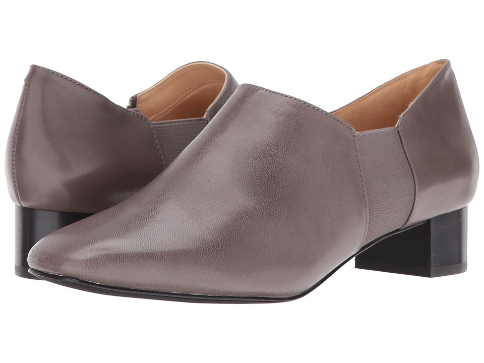 Trotters - Lillian (Dark Grey Veg Goat Leather) Women