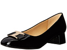 Trotters - Louise (Black Patent Leather)