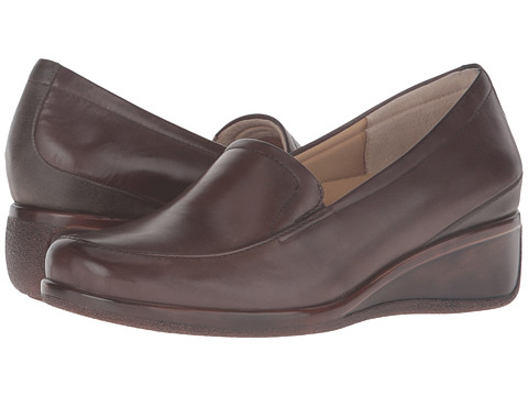 Trotters Marche - Sage Tumbled Leather