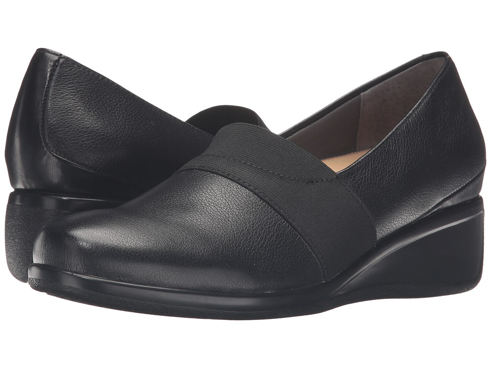 Trotters Marley (Black Tumbled Leather) Women