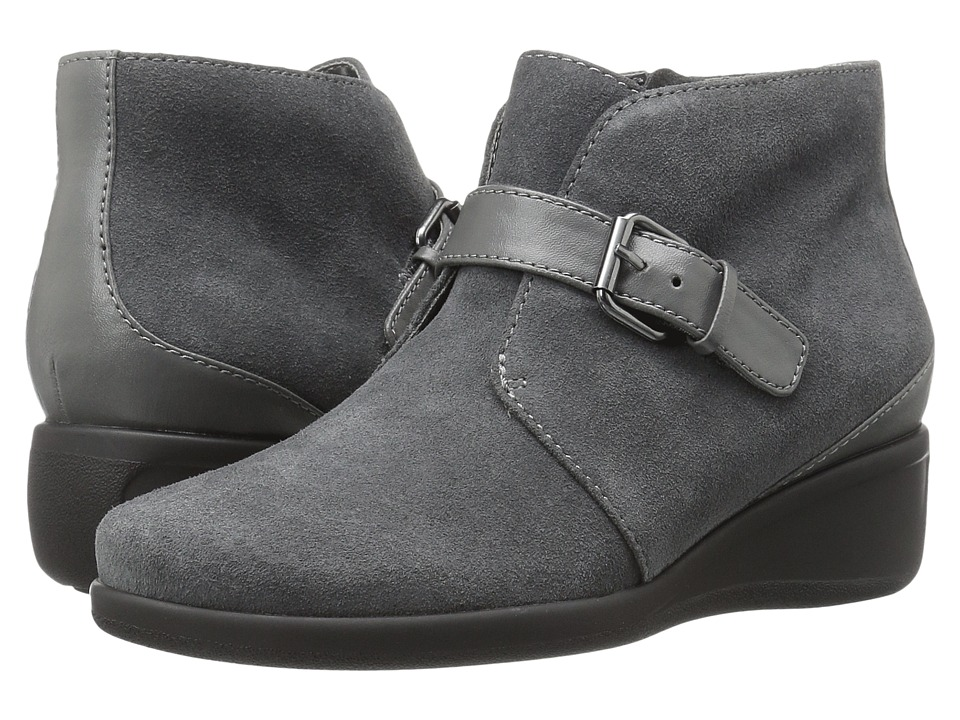 Trotters - Mindy (Dark Grey Cow Suede Leather) Women