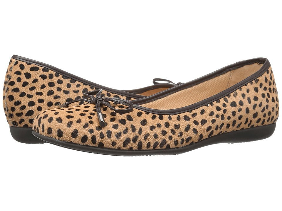 Trotters - Sante (Tan Cheetah) Women