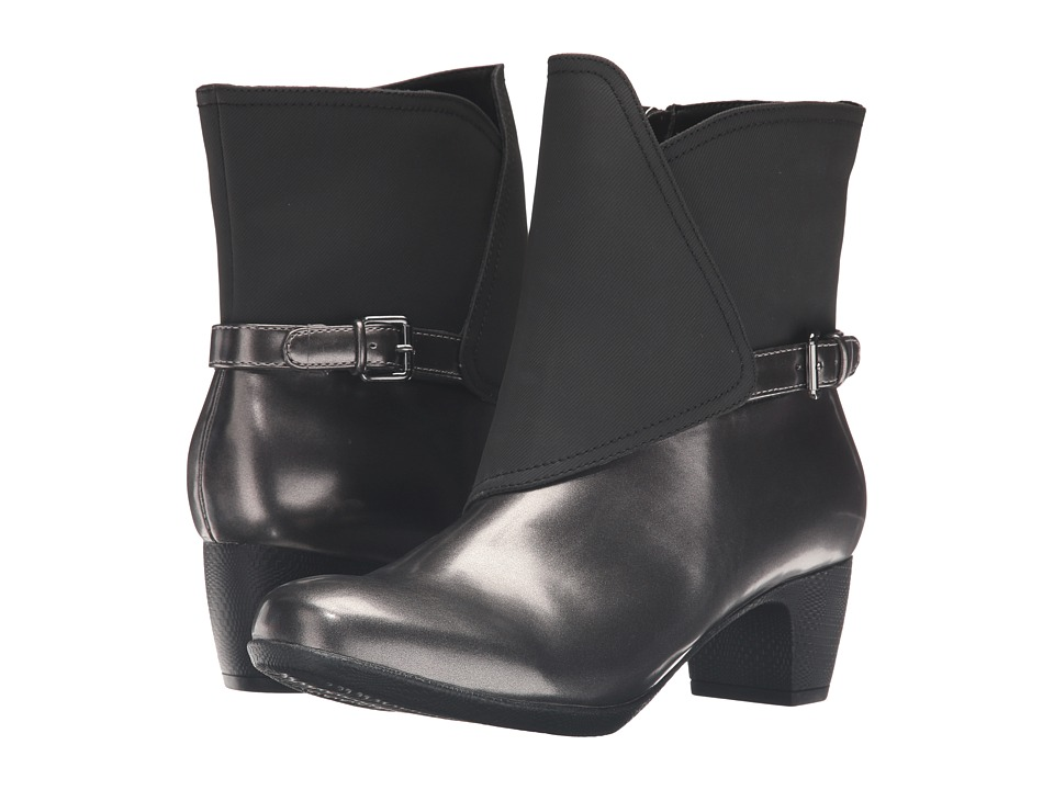 Trotters - Stormy (Graphite/Black Box Leather) Women