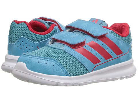 adidas Kids LK Sport CF (Toddler) - Vapour Blue/Ray Red/White