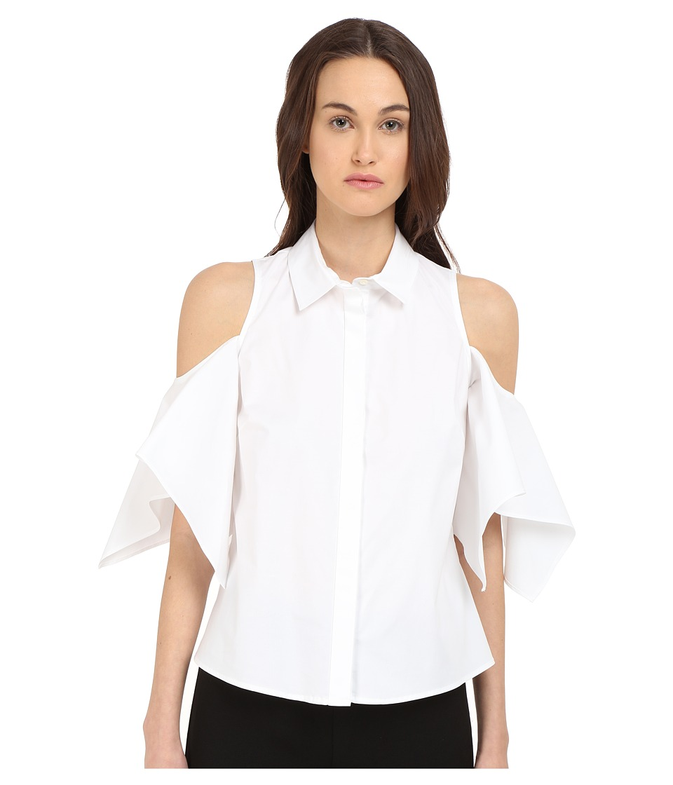 Zac Posen Dolman Sleeve Blouse White Womens Blouse
