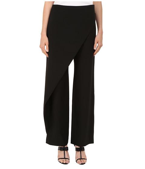 Zac Posen High Waist Wide Leg Trousers - Black