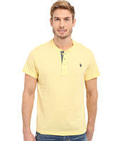 U.S. POLO ASSN. - Slim Fit Textured Henley T-Shirt