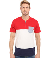 U.S. POLO ASSN. - Wide Stripe Pocket Henley T-Shirt