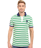 U.S. POLO ASSN. - Slim Fit Shadow Stripe Polo Shirt