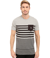 U.S. POLO ASSN. - Engineered Stripe Crew Neck Pocket T-Shirt