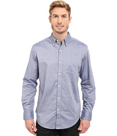 U.S. POLO ASSN. - Dobby Print Long Sleeve Oxford Shirt