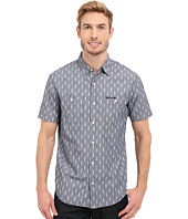 U.S. POLO ASSN. - Short Sleeve Slim Fit Printed Canvas Shirt