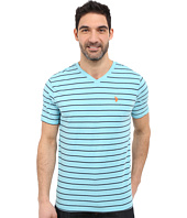 U.S. POLO ASSN. - Horizontal Pin Stripe V-Neck T-Shirt