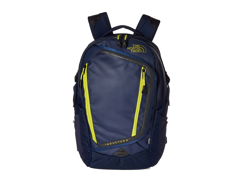 The North Face Inductor Charged Backpack Cosmic Blue/Sulphur Spring Green Backpack Bags