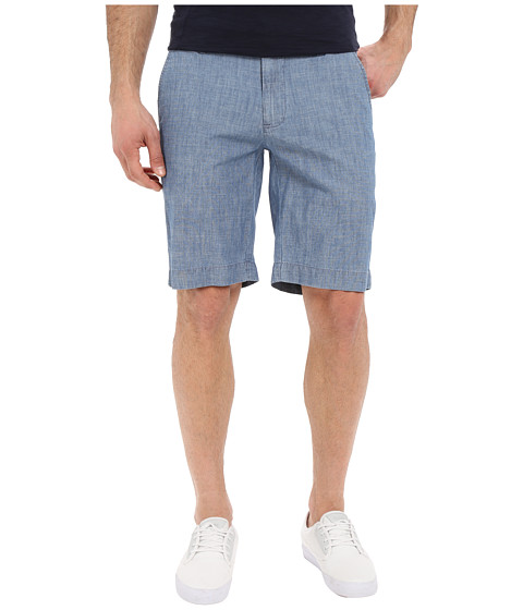U.S. POLO ASSN. Flat Front Chambray Shorts