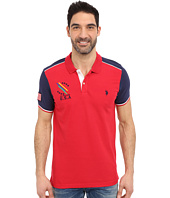 U.S. POLO ASSN. - Classic Fit Color Block Polo Shirt