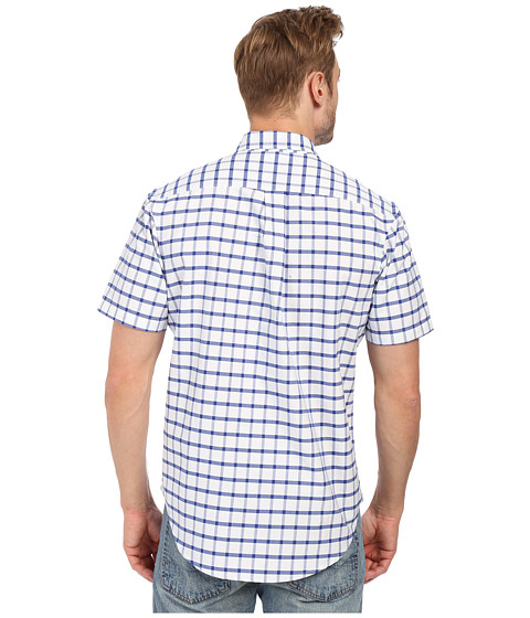 U s polo assn button down collar oxford check sport for Button up collared sport shirts