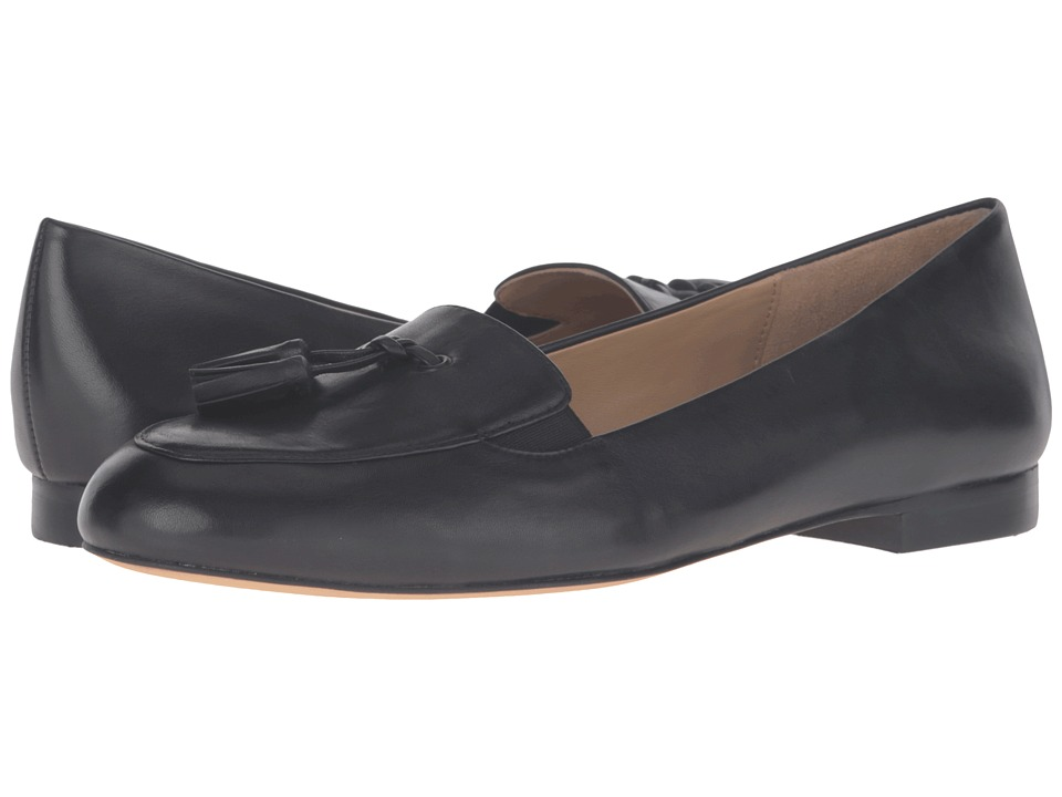 Trotters Caroline (Black Soft Nappa Leather) Women
