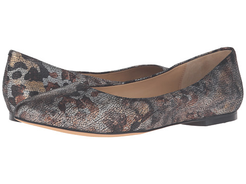 Trotters Estee - Matte Multi Washed Metallic Leather