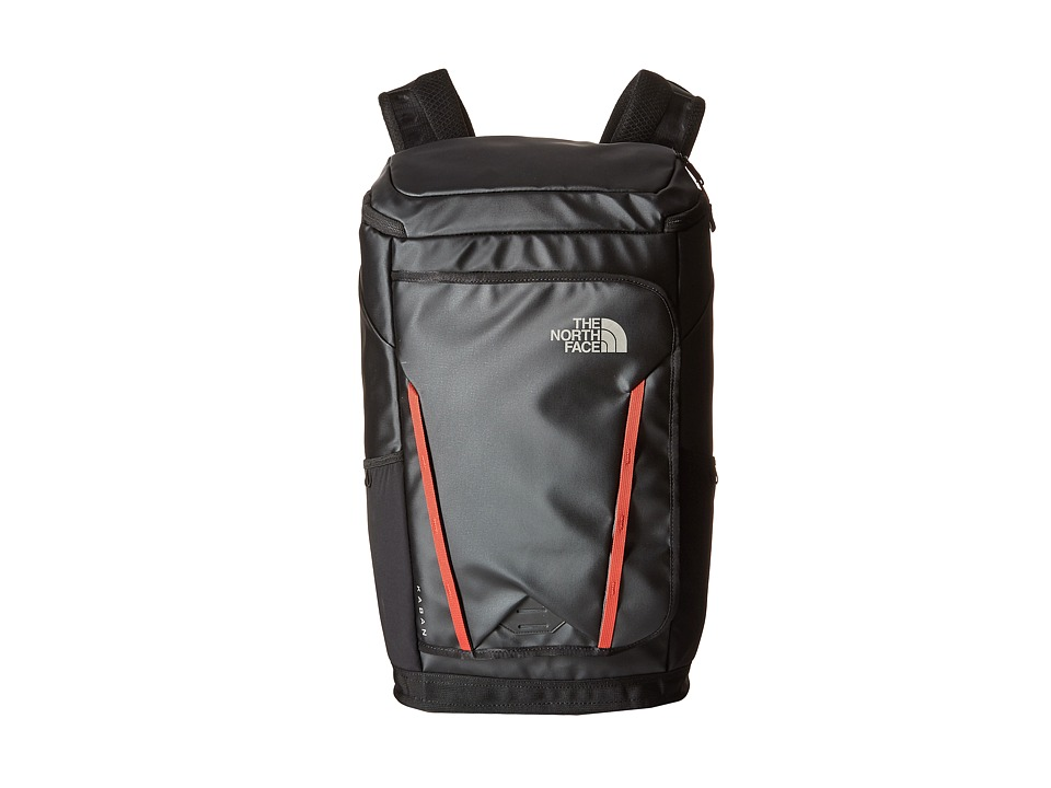 The North Face - Kaban Transit (TNF Black/Pompeian Red) Backpack Bags