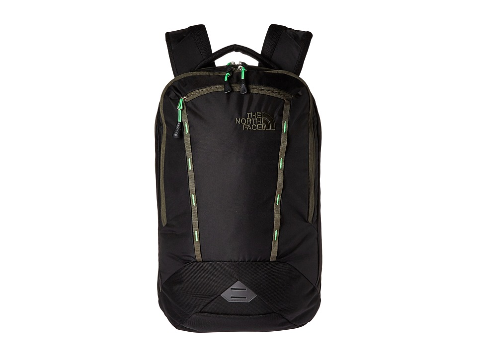The North Face - Microbyte Backpack (TNF Black/Forest Night Green) Backpack Bags