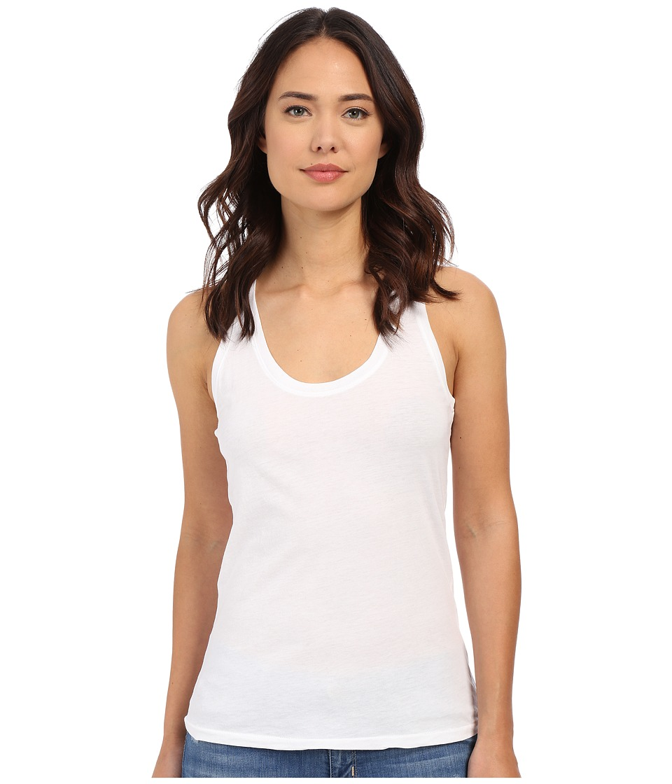 AG Adriano Goldschmied Corey Tank Top True White Womens Sleeveless