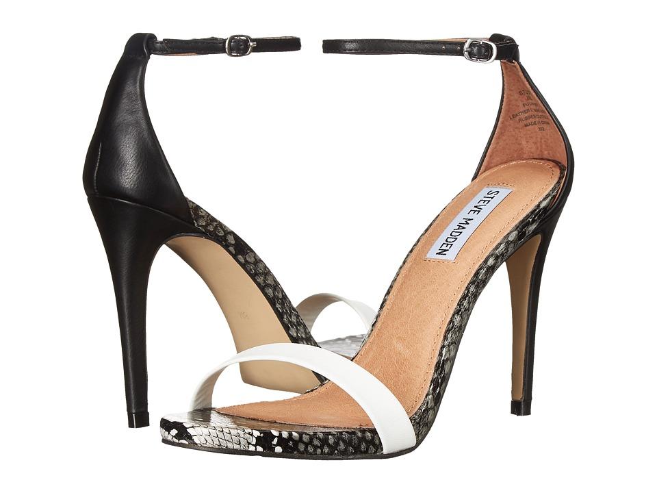 Steve Madden Stecy White Multi High Heels