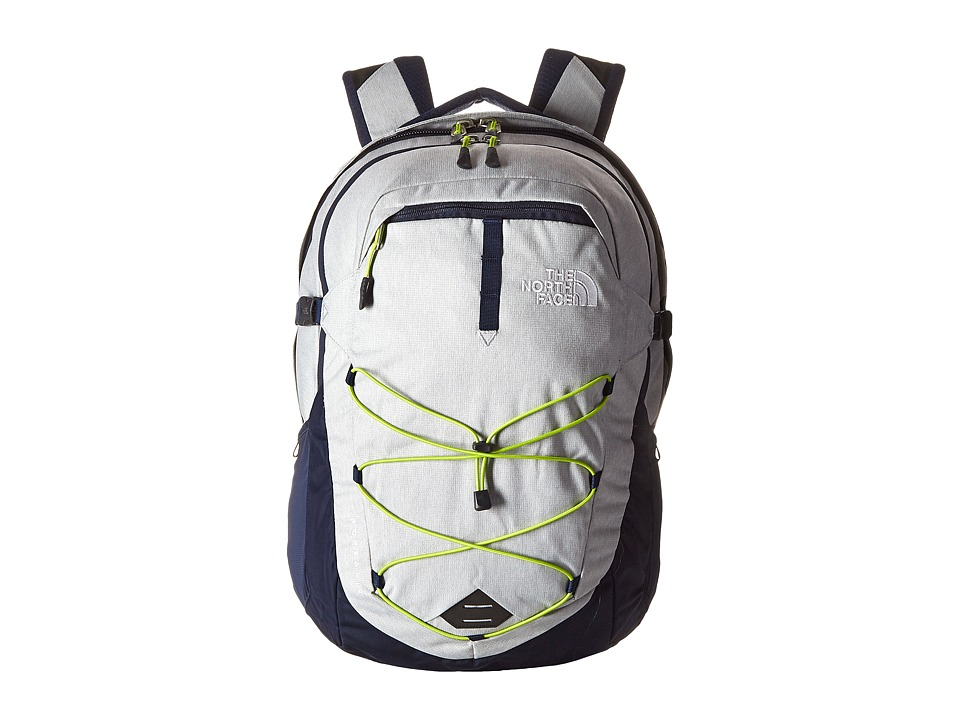 The North Face - Borealis (High Rise Grey Heather/Lantern Green) Backpack Bags