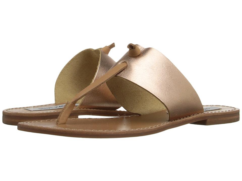 Steve Madden Olivia Rose Gold Womens Sandals