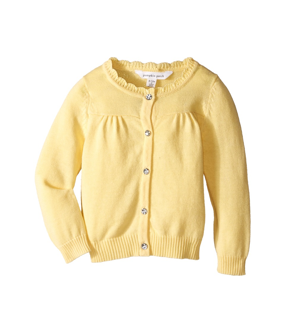Pumpkin Patch Kids Carly Rose Cardigan Infant/Toddler/Little Kids Popcorn Girls Sweater