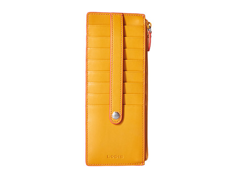 Lodis Accessories Audrey Credit Card Case with Zipper Pocket