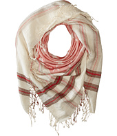 Steve Madden - Stars and Bars Jacquard Square Day Wrap