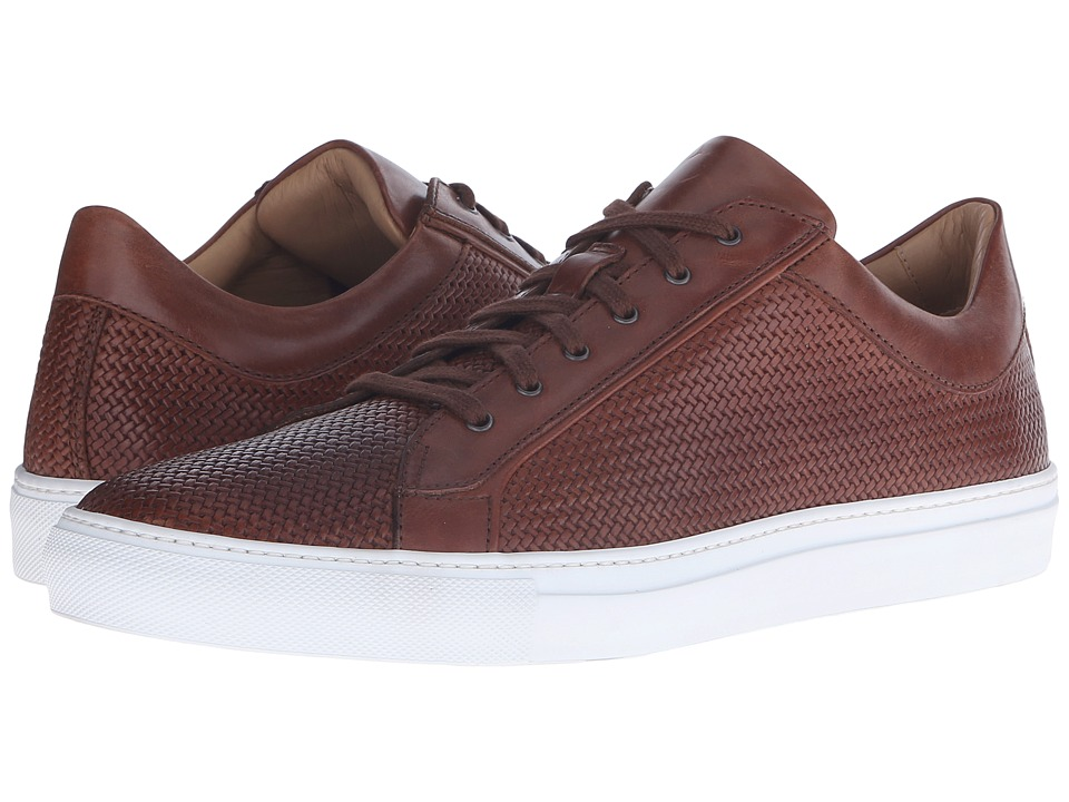 Aquatalia Andre Nut Woven Full Grain Mens Lace up casual Shoes