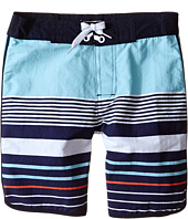 Pumpkin Patch Kids - Multi Stripe Boardshorts (Infant/Toddler/Little Kids)