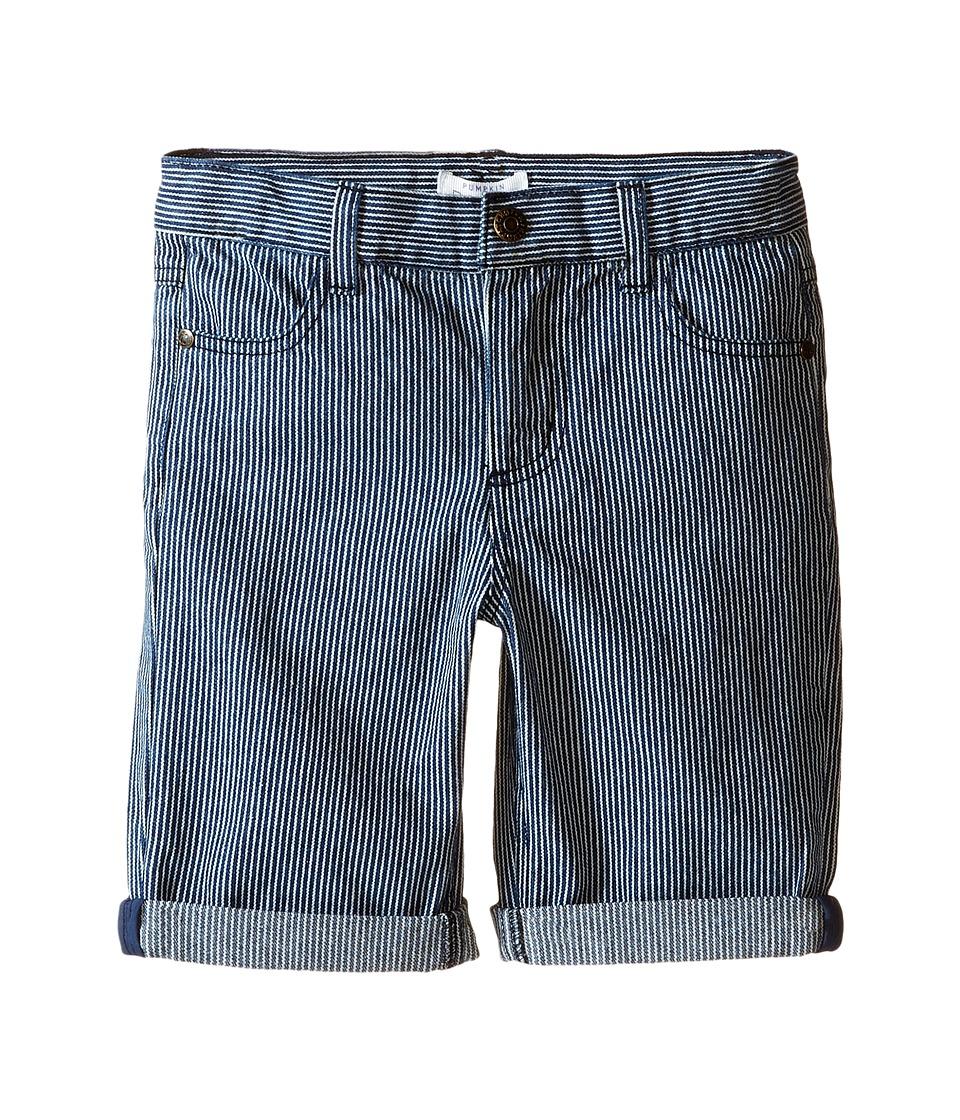 Pumpkin Patch Kids Stripe Denim Shorts Infant/Toddler/Little Kids Denim Boys Shorts