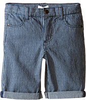 Pumpkin Patch Kids - Stripe Denim Shorts (Infant/Toddler/Little Kids)