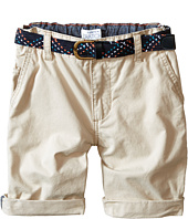 Pumpkin Patch Kids - Turn Up Shorts with Belt (Infant/Toddler/Little Kids)